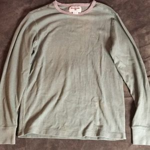 Billabong light sweater/thermal shirt